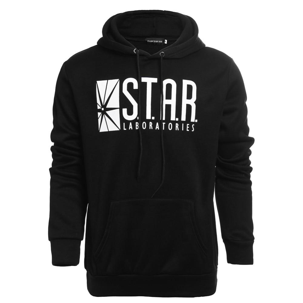 STAR Laboratories Hoodies Cool Sweatshirt The Flash S.T.A.R. Labs Hoodie