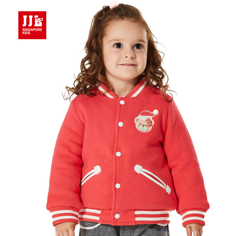 new brand 2015 winter baby girl coat baseball jacket outerwear baby children clothing coats kids jacket