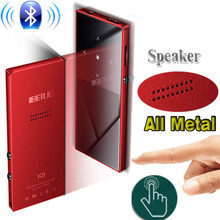 Bluetooth mp3 player Touch Screen BENJIE K8 Build in Speaker 8GB Music Player 1.8 Inch Color Screen Lossless HiFi Sound with FM(China)