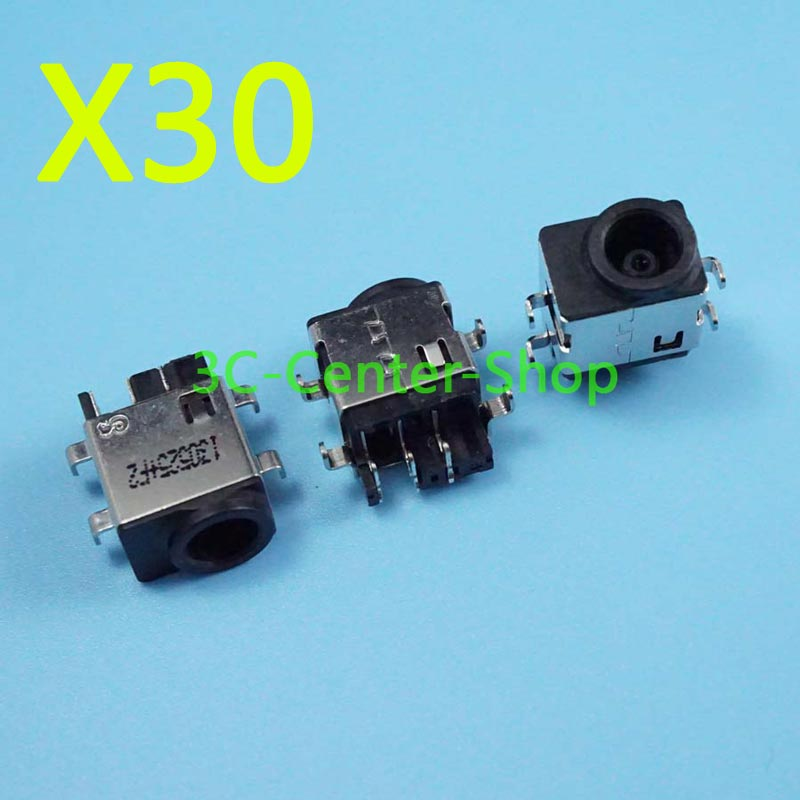 ShineBear Laptop dc Power Jack for Samsung NP RV510 RV511 RV515 RF710 RV411 RV420 RC512 DC Connector Tracking Number Cable Length: 2PCS
