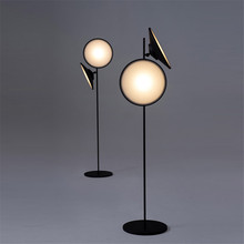 Modern Floor Lamp Japanese Style Living Room Standing Lampshade Decor Lamps for Reading Stand Light