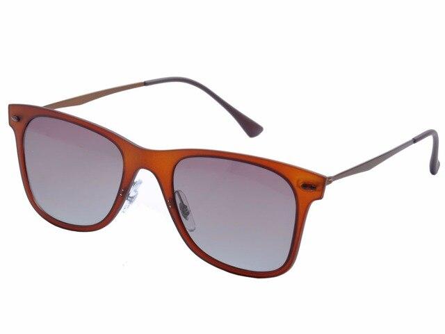 DEDING Estilo Retro Aviador Quadrado Flat Top Óculos de Sol Shades  espelhado Gradiente polarizada óculos de 7ccc03f8fc