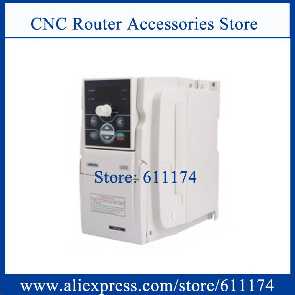 SUNFAR Inversor 1.5kw AC220V E300-2S0015L VFD Inversor de Freqüência Para motor Do Eixo CNC