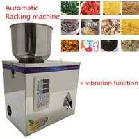 Automatic Weighing With Vibration Food Package 1 25g 220V Fulling Racking Machine Packing Machine Granular Pack