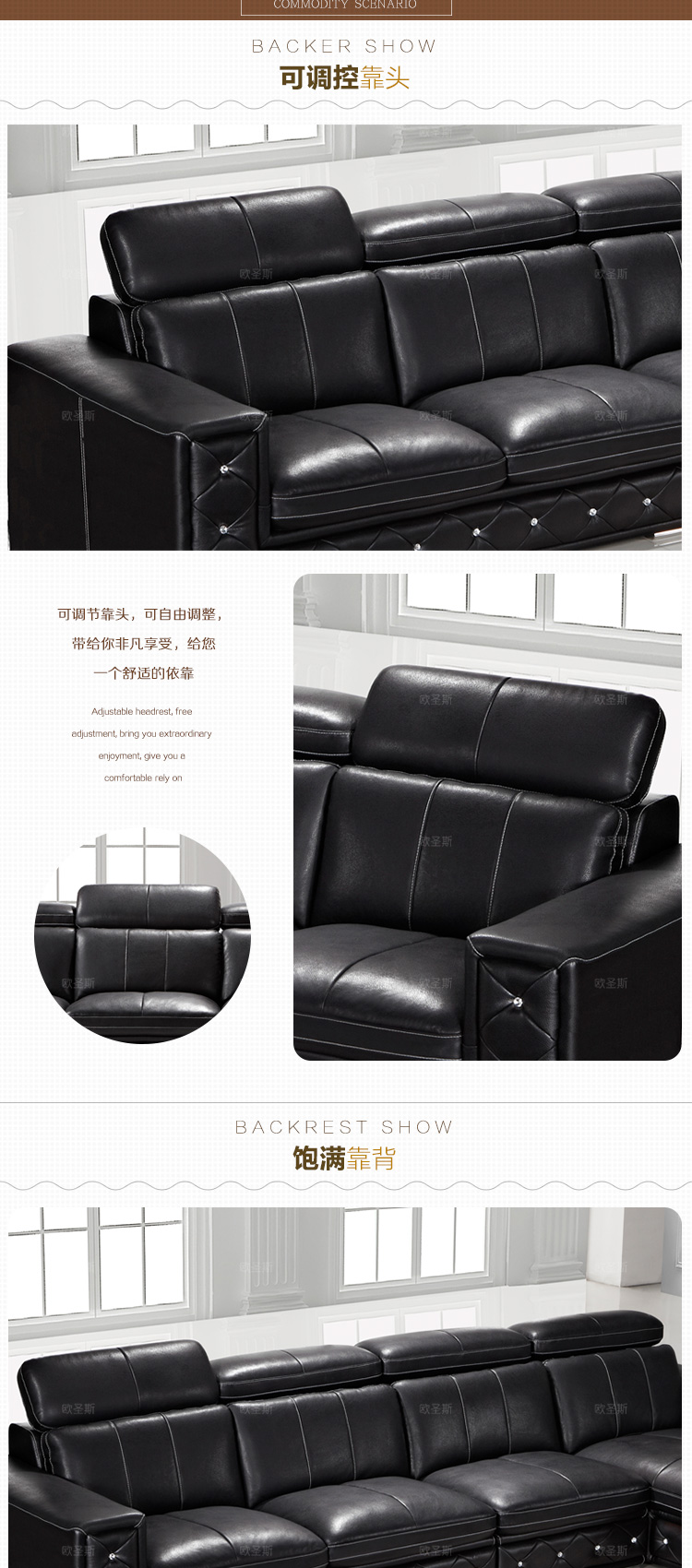 Sofa Set Online Us 950 Buy Sofa Set Online Latest Sofa Designs 2016 Black L Shaped Modern Corner Leather Sofa Germany With Adjustable Backrest Sofa F36 In Living