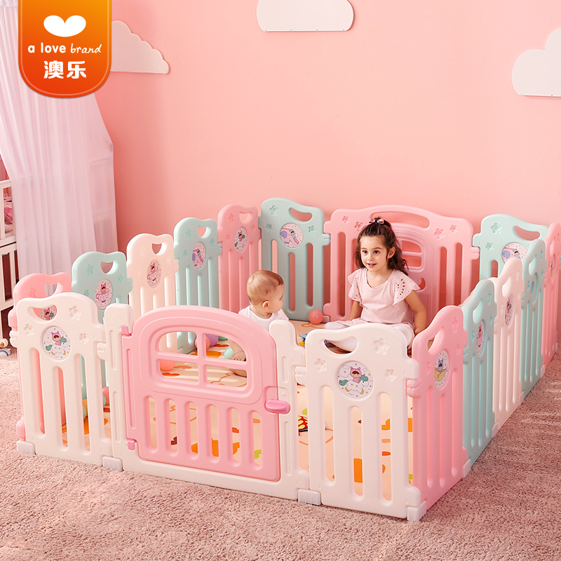 baby playpen Safety Fence,Guardrail Learning Walking Railing Crawling Safety Fence Home Use Indoor Toy Childrens Play Fence Playards Baby
