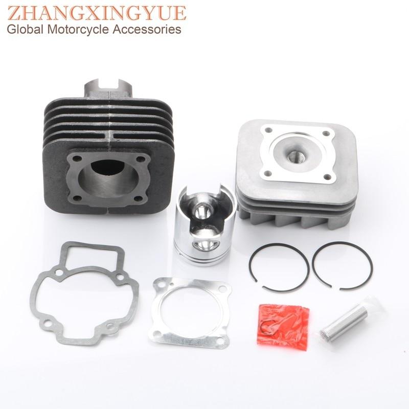 50cc Cylinder Kit & Cylinder Head & Piston Kit for Piaggio