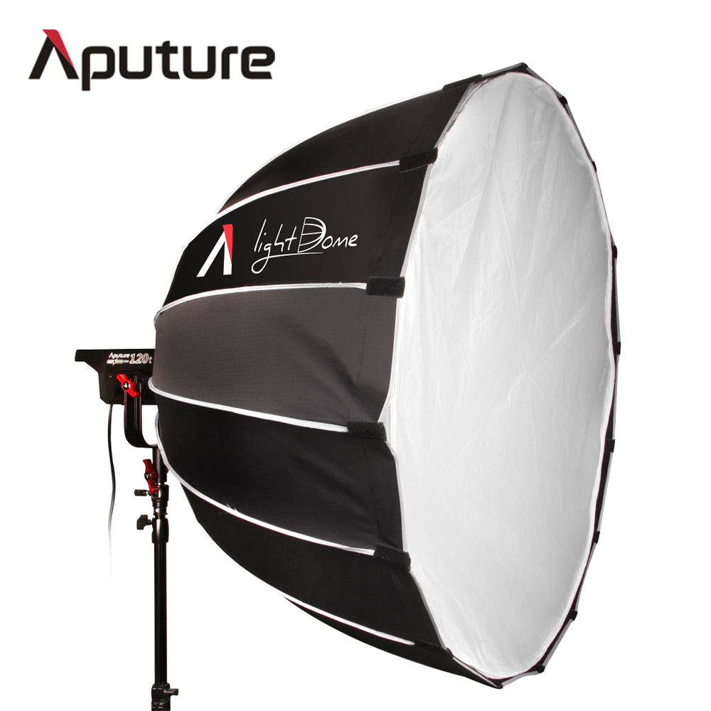Aputure LS C120t Light Dome Kit studio Bowens-mount CRI 97 CRI 97 LED Video light professional led light for video shooting aputure ls c120t tlci cri 97 light dome kit led video studio camera light panel light storm with wireless remote v mount plate