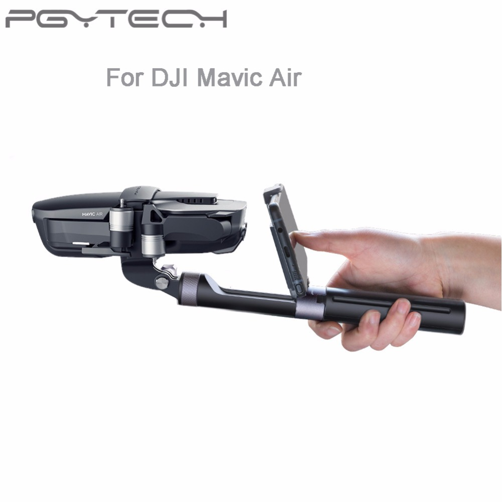 PGYTECH Hand Grip & Tripod Gimbal Handheld PTZ Stabilizer Action Camera Holder Trip for DJI Mavic Air RC Drone Accessory DR2625