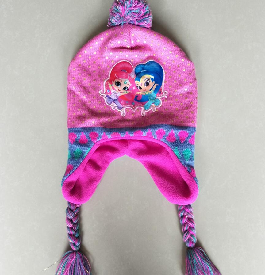 Shimmer and Shine knit hat