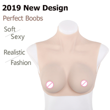 IVITA Artificial Silicone Breast Forms Fake Boobs Breasts Male to Female Fashion Cosplay For Crossdresser Transgender Shemale цена и фото