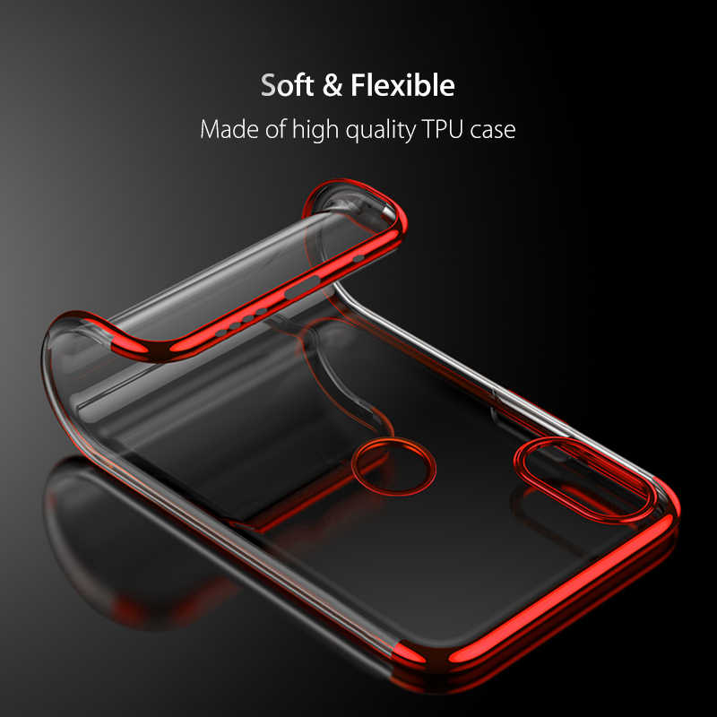 מקרה עבור Xiaomi Redmi 6 פרו 6A 5 בתוספת 5A 4X 4A הערה 5 6 פרו חזרה טלפון כיסוי ציפוי רך TPU מגן Redmi הערה 6 פרו מקרה