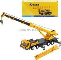 1/50 xcmg Полный гидравлический автокран QY70K литья под давлением модели строительных машин игрушка
