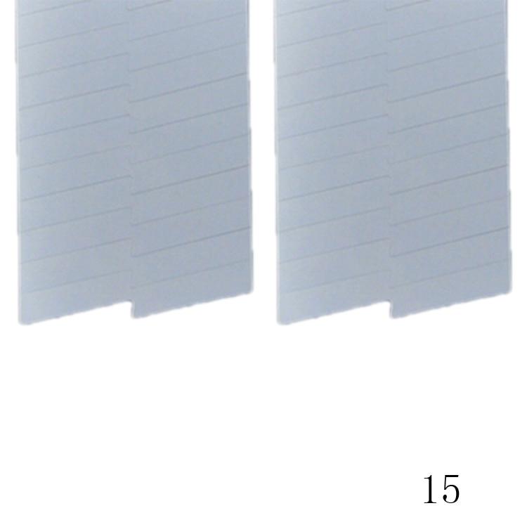 New Fashion 48PCS/Lot Nail Sticker DIY French Manicure Nail Art Decorations Round Form Fringe Guides Nail Sticker 21