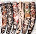 50pcs new adult driving sunscreen arm tatoo sleeve cool cycling temporary flash tattoo Stretchy scorpion fake tattoo sleeves