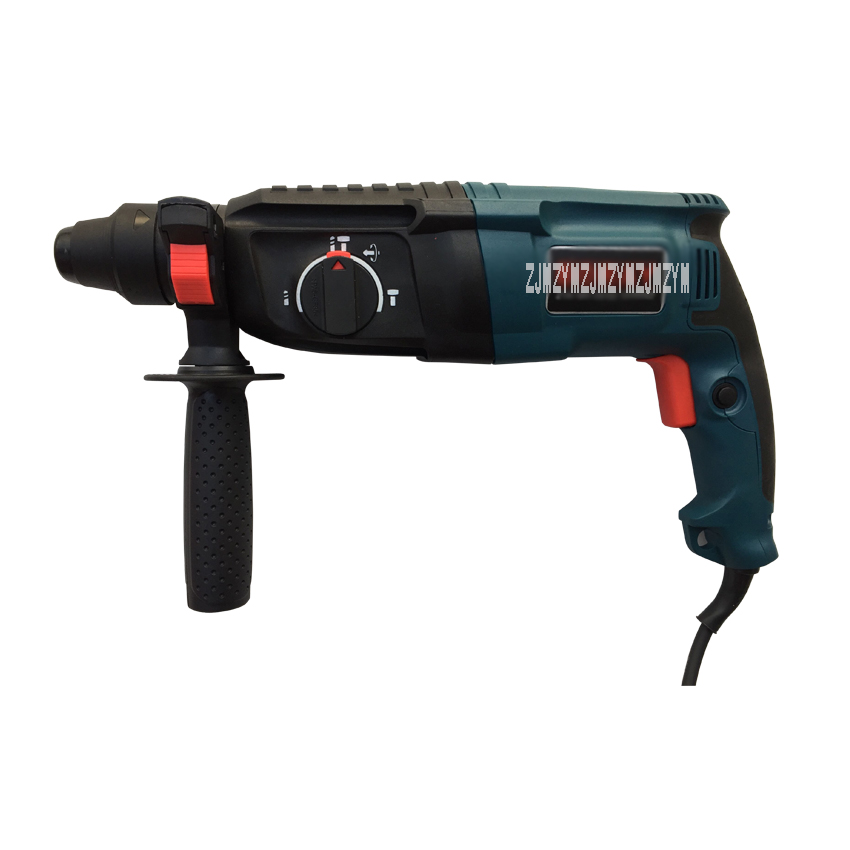 Z1A-BR-26SE 800W 3 Operating Modes Electric Rotary Impact Hammer Drilling Machine Household Concrete Bricks Wall Working Power working with concrete
