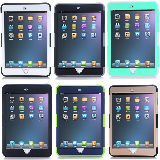 Shockproof case For apple iPad Mini 4 Cover