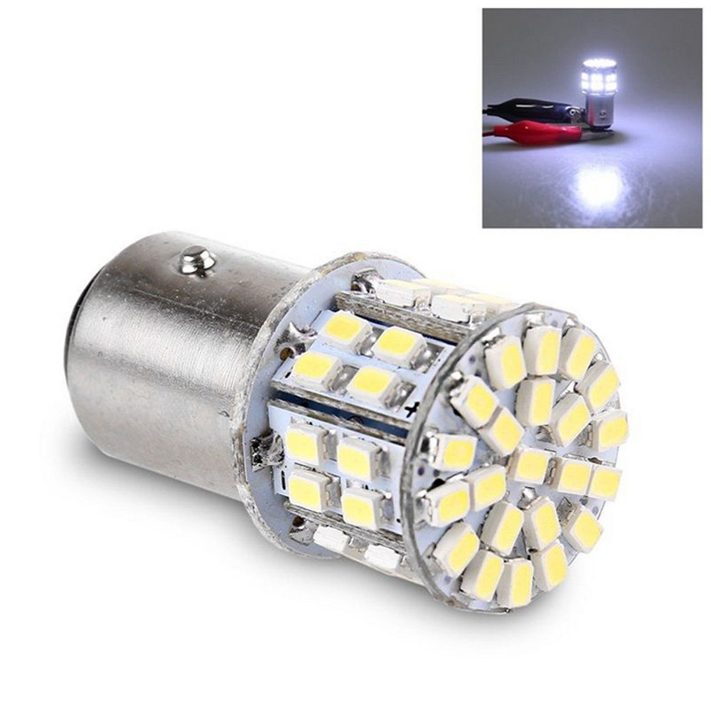 CYAN SOIL BAY HIGH quality car styling Auto Car led light WHITE P21/5W s25 bay15d 1157 50 leds smd 50smd brake stop bulb lamp 5pcs 1157 led bulb high quality 5 arms expandable 40 smd red auto xenon bay15d brake light bulb lamps for ford focus car styling