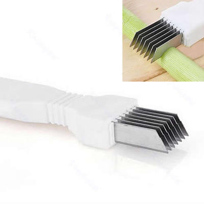 3Pcs/Lot New Green Spring Onion Vegetable Shredder Slicer Cutter Easy Handle