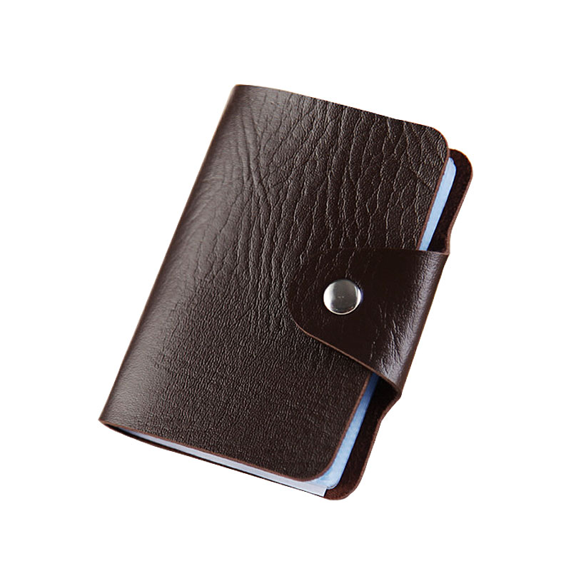 Yesello Carte PU Thin Top Brand Business ID Credit Card Holder Wallets Pocket Case Bank Credit Card Package 2018 pu leather unisex business card holder wallet bank credit card case id holders women cardholder porte carte card case