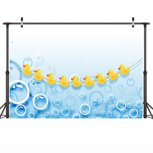 Yellow Duck Background Cartoon Photographic Backdrops for Children Newborn Baby Shower Backgrounds Photo Booth bvlgari goldea the roman night парфюмерная вода спрей 50 мл