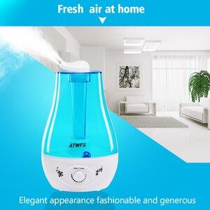 Image 5 - ATWFS humidificador de aire 3L, difusor ultrasónico de Aroma para el hogar, difusor de aceites esenciales, generador de niebla, lámpara LED