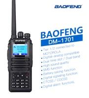 מכשיר הקשר 2019 חם Baofeng DMR DM-1701 רדיו דו כיווני Dual Band Tier 2 DMR מכשיר הקשר Digital Radio Dual זמן חריץ DMR דיגיטלי Tier1 & 2 (2)