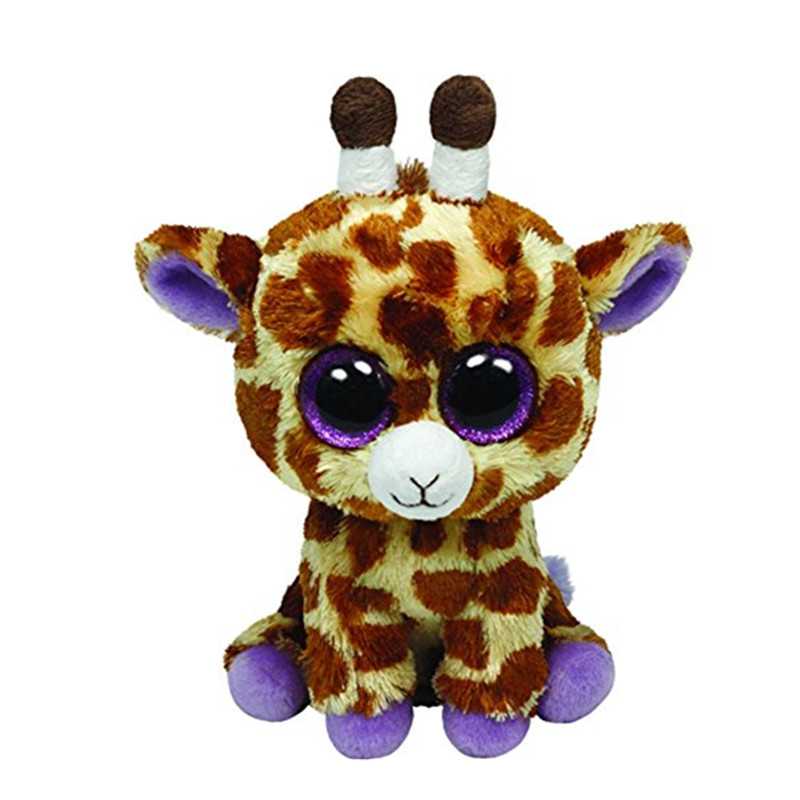 Ty Beanie Boos 6 15cm Grey Giraffe Rabbit Unicorn Purple Spider