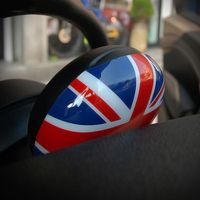 Union Jack Tachometer Cover Sticker For MINI COOPER JCW S R55 R56 R57 R58 R59 R60