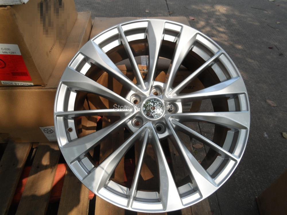 20x8J Wheel <font><b>Rims</b></font> 5*114.3 CB 66.1mm ET35 Fit Nisan SUV With The Hub Caps image