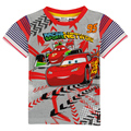 Boys summer t shirt Children Clothing Nova Kids Wear Boys T-Shirts Printed Cars Short Sleeve Baby Clothing Boys Shirts C5060