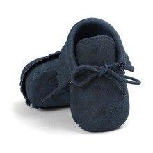 Hot Sale Autumn/Spring Baby Shoes Newborn Boys Girls PU Leat