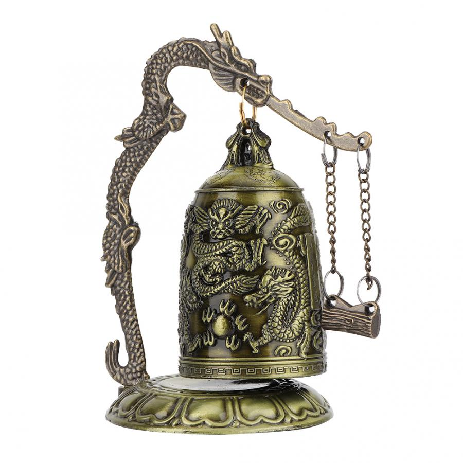 Ornament Home Decoration Buddhist-Bell Dragon-Bell-Hang Vintage