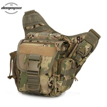 Men's Military Tactical Backpack Hunting pack Molle Army Bags Shoulder Strap Bag Pouch Pack Outdoor Bags new tactical military hunting small utility pouch pack army molle cover scheme field sundries bags outdoor sports mess briefcase