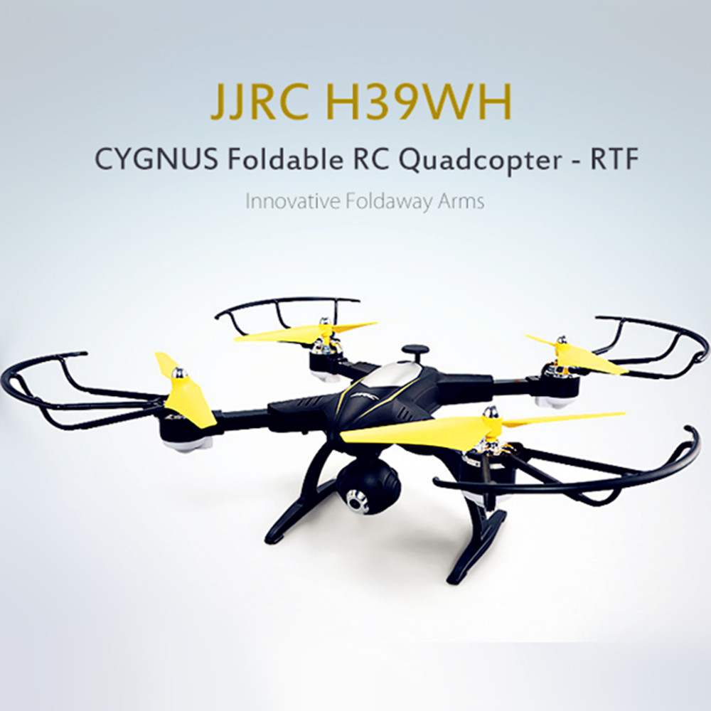JJRC H39WH CYGNUS Foldable RC Drone RTF WiFi FPV 720P HD Air Press Altitude Hold Headless Mode RC Quadcopters RC Helicopters jjrc h19wh wifi fpv with 2mp camera headless mode air press altitude hold rc quadcopter rtf 2 4ghz