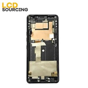 Image 4 - 6.0 inç HTC U12 artı LCD ekran dokunmatik ekranlı sayısallaştırıcı grup HTC U12 + artı ekran yerine