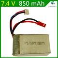 7.4 V 850 mAH Lipo Batería Para Udi U829A U829X MJXRC X600 remoto control de la batería 7.4 V 850 mAH 20C li-po JST plug 703048