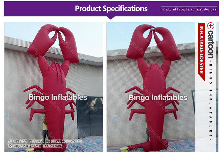 BG-O0001-Inflatable-lobster-bingoinflatables_01