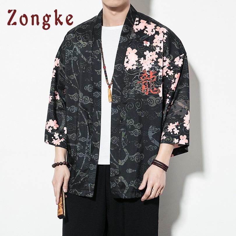 Chinese Dragon Streetwear Kimono 2