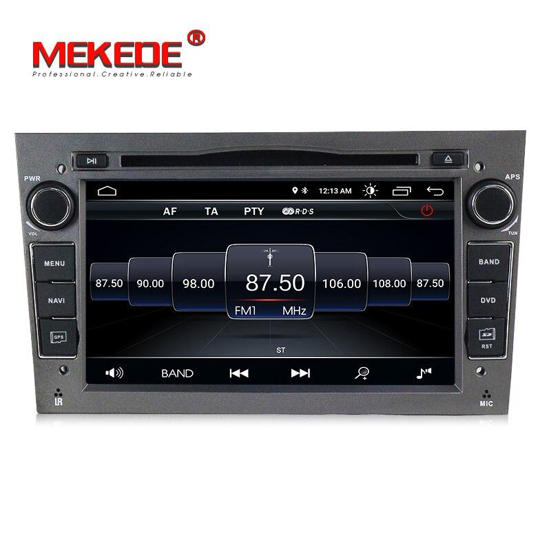 7 дюймов 2 din Android 8,0 quad core dvd-плеер автомобиля для Opel Astra h g Zafira B Vectra C D Antara Combo с gps-навигация радио