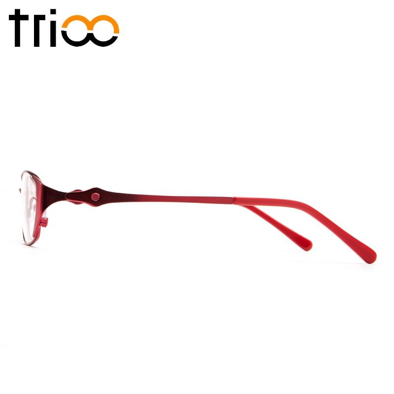 Den Gläser Rot Leidenschaft Transparenten Frauen Weibliche C1 Oval Photochrome Trioo Lesen c2 Auge c3 Brillen Dioptrien AFqz7fn