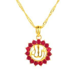 Image 5 - Арабские женщины, мусульманский религиозный Бог, Бог, стразы, камень на день рождения, ожерелье, ювелирные изделия