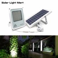 Alpha 600X 100 LED 100 750lm 3 Power Modes Solar Powered Outdoor Flood Light Solar LED Lamp for Garden