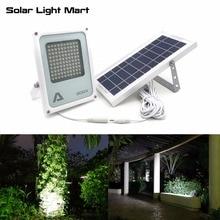 Alpha 600X100 светодио дный 100-750lm 3 Мощность режима солнечной Мощность ed напольный Солнечный светодио дный лампы для сада