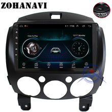 ZOHANAVI Android 9.0 2.5D Screen Car GPS DVD Player for mazda 2 2007 2008 2009 2010 2011 2012 2013 2014 Auto Radio stereo player(China)
