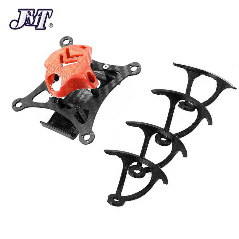 JMT T85 85mm FPV Racing Quadcopter Kit de marco de fibra de carbono Rack con 3D impresión dosel para DIY FPV Racing multicopter Drone