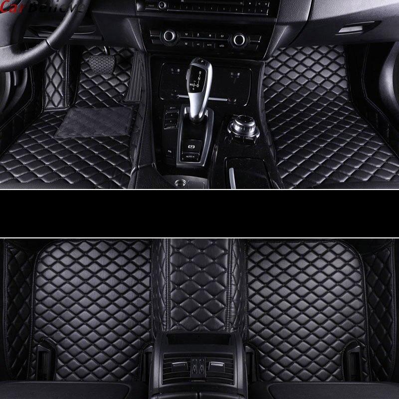 Car Believe car floor mat For suzuki ignis wagon r sx4 2008 grand vitara jimny swift Kizashi accessories carpet rugs in Floor Mats from Automobiles Motorcycles