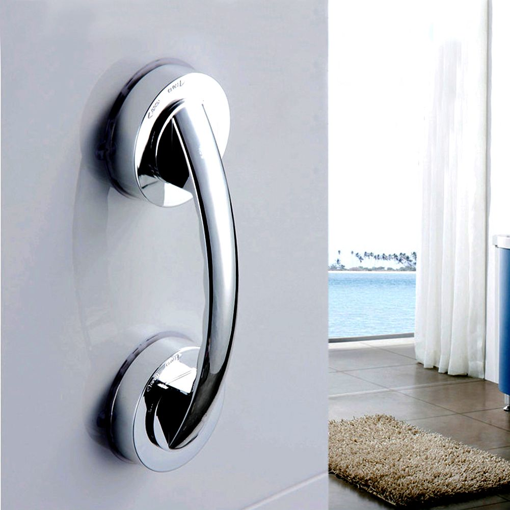 New handle Strong Sucker Hand for Elder Children Bathroom Shower Safety Handrails Bathroom Accessories