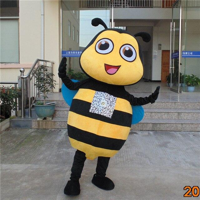 Cartoon Maya bee Mascot Cosplay Costume