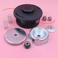 10mm Trimmer Head Gearbox Head Rebuild Kit For Stihl FS100 FS120 FS130 FS200 FS250 Trimmer Spare Part Eyelet Sleeve Spring Kit